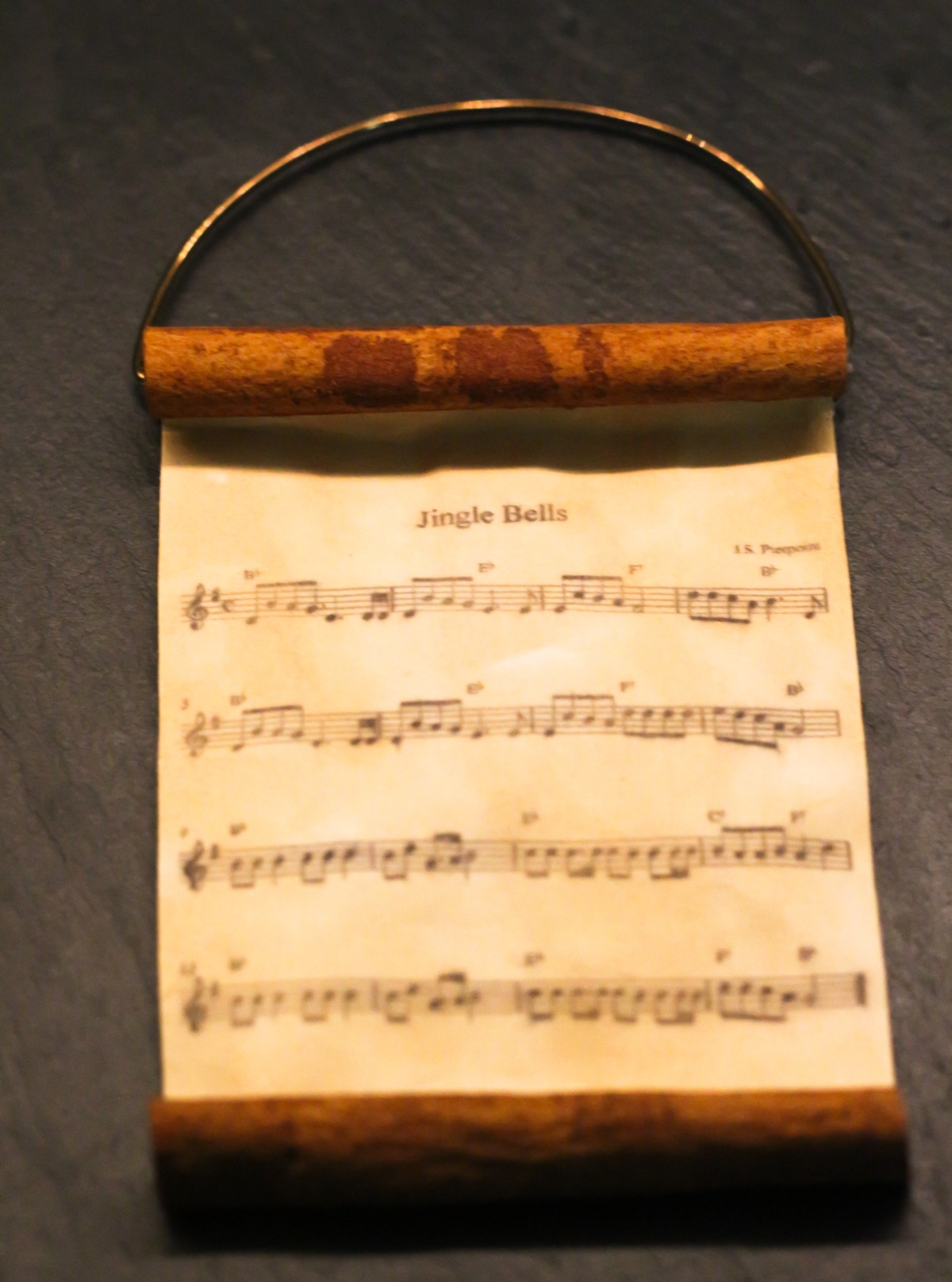 DIY Cinnamon Music Scroll Ornament (12 of 13)