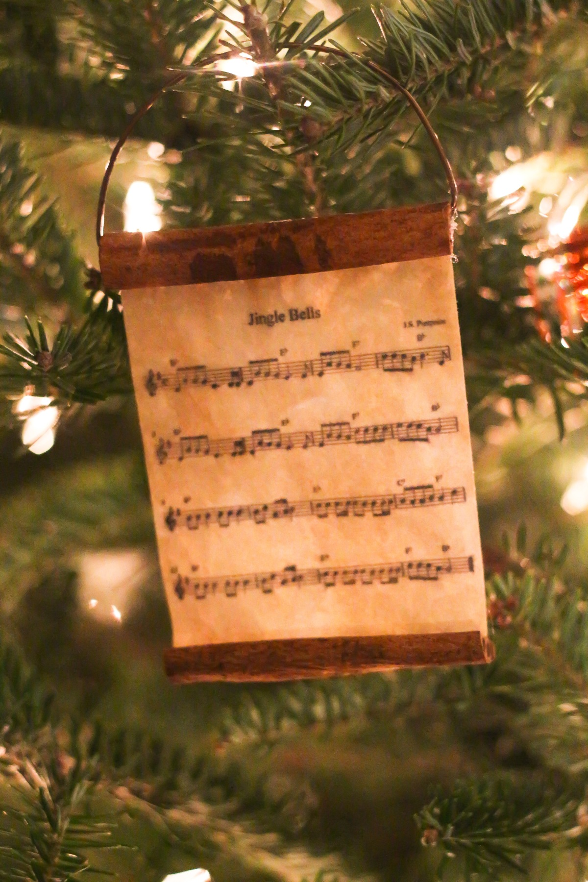 DIY Cinnamon Music Scroll Ornament (13 of 13)
