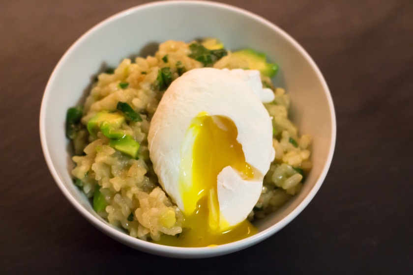 Cilantro Lime Avocado Risotto Poached Egg (17 of 18)