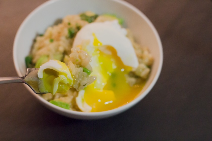 Cilantro Lime Avocado Risotto Poached Egg (18 of 18)